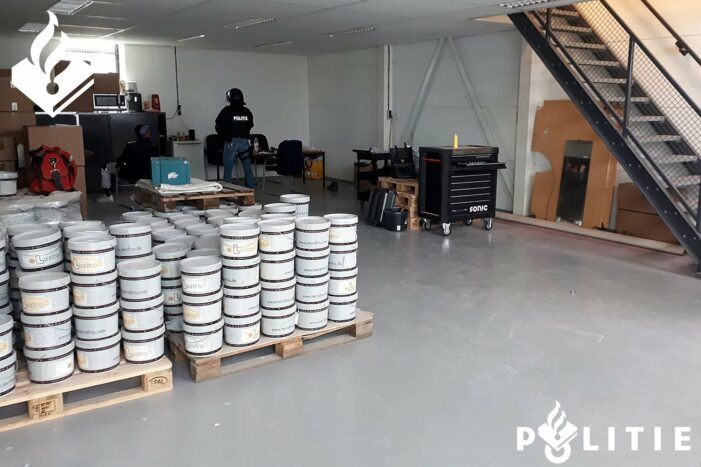 Xtc-lab bij Amsterdam ontmanteld