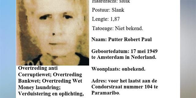 Nederlander gezocht in Surinaamse corruptieaffaire