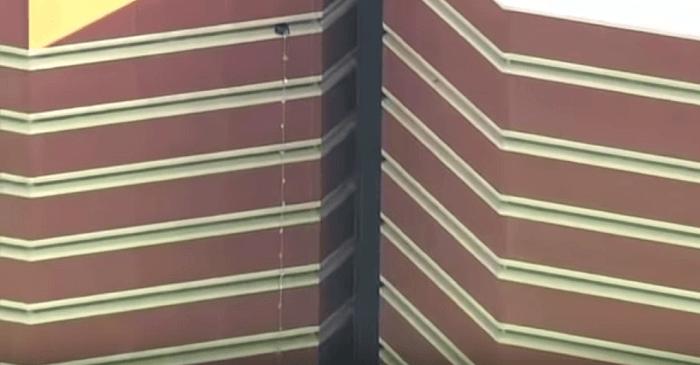 Klassieke ontsnapping met lakens uit Oklahoma County Jail (VIDEO)