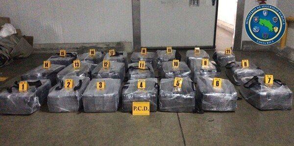 Bijna een ton cocaïne klaar voor Rotterdam
