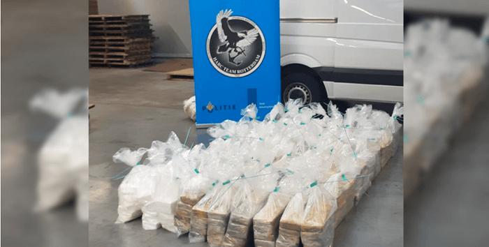 Nog eens 600 kilo cocaïne onderschept in Rotterdamse haven