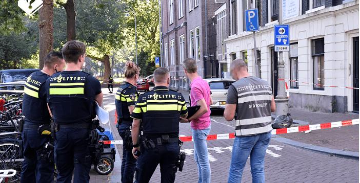 Kantoor advocaat Jan-Hein Kuijpers in Amsterdam beschoten