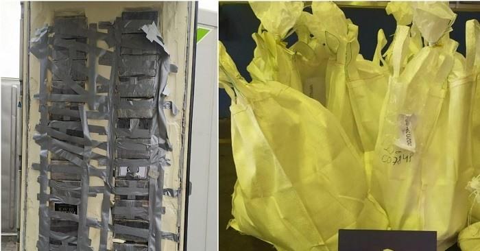 129 kilo cocaïne bestemd voor Antwerpen achter valse containerwand