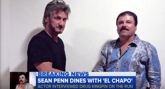 "Mexicaanse marine wilde ""El Chapo"" oppakken tijdens interview Sean Penn"
