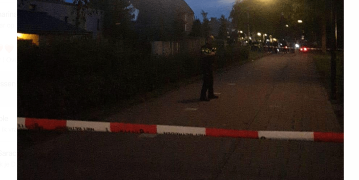 Arrestatie na schietpartij in Boxmeer (VIDEO)