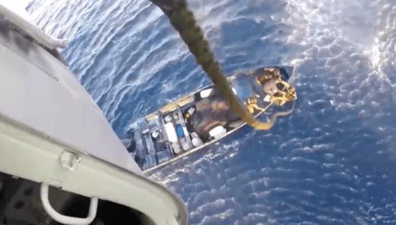 Bijna drie ton cocaïne voor Mexicaanse kust gepakt (VIDEO)