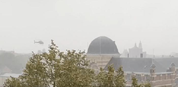 Vier mannen opgepakt voor Belgische helikopterkaping