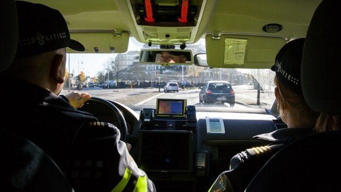 In Groningen gestolen Audi eindigt tegen paaltje in Haarlem