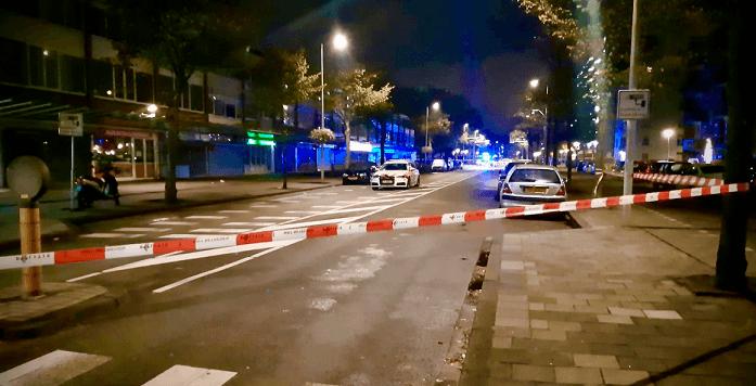 Man neergeschoten in Amsterdam-Osdorp, explosief op stoep