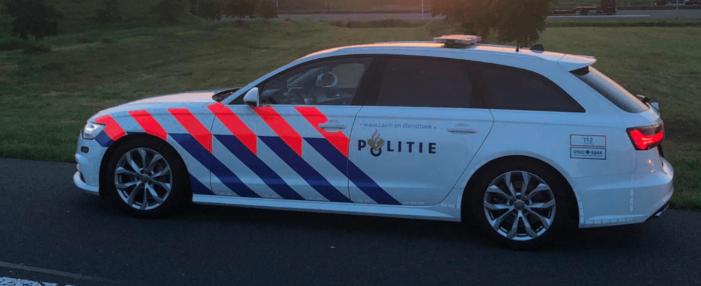 Franse bestuurder gestolen auto ramt politiewagens