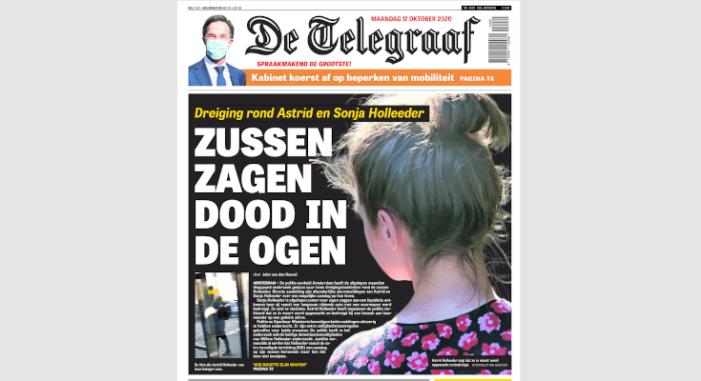 'Politie onderzocht bedreiging van zussen Willem Holleeder'