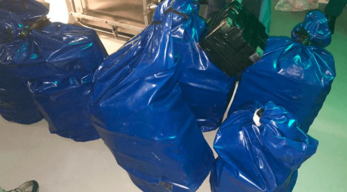 1,7 ton cocaïne onderschept door marineschip