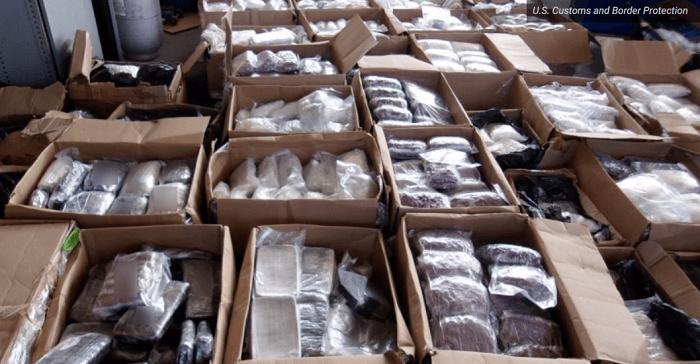 1,4 ton crystal meth in beslag genomen bij Amerikaanse-Mexicaanse grens