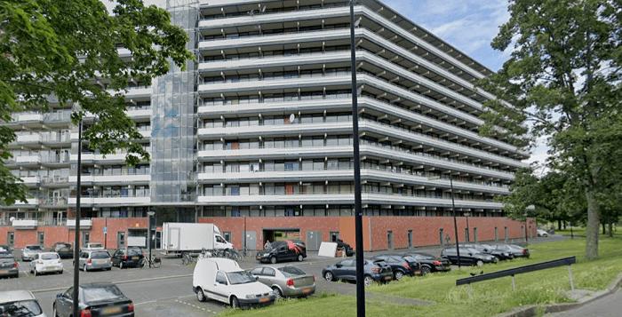 Flatwoning in Amsterdam-Zuidoost beschoten