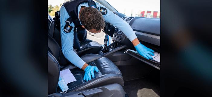 Verkeersbekeuringen bij grensactie tegen ondermijning