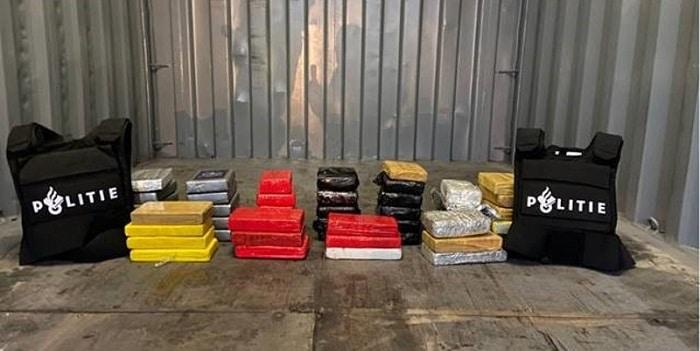 50 kilo coke in de Botlek aangetroffen