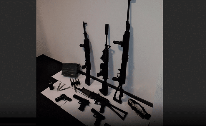 Wapenarsenaal gevonden op zolderkamer in Borculo