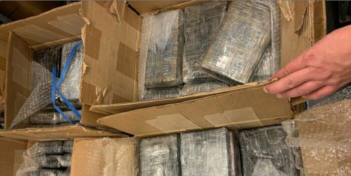 Schiphol: Douane onderschepte 200 kilo cocaïne