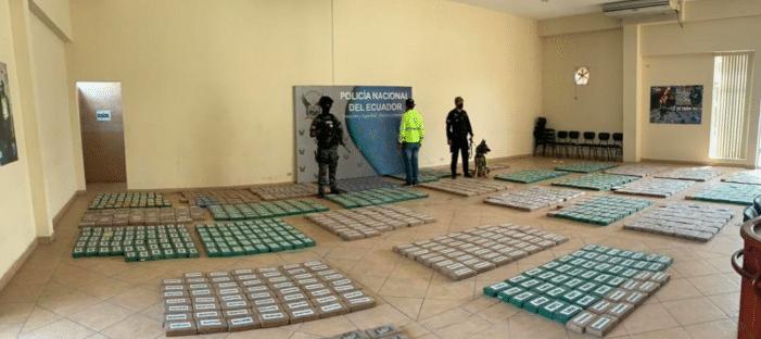 Meerdere cocaïnezendingen gepakt in Ecuador