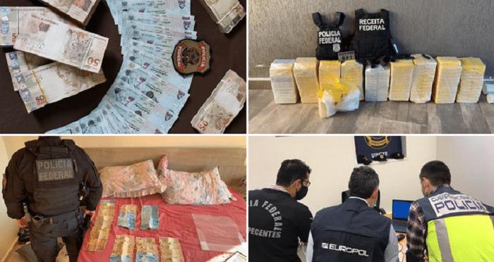 45 arrestaties voor grootschalige cokesmokkel Brazilië-Europa (VIDEO) (UPDATE)