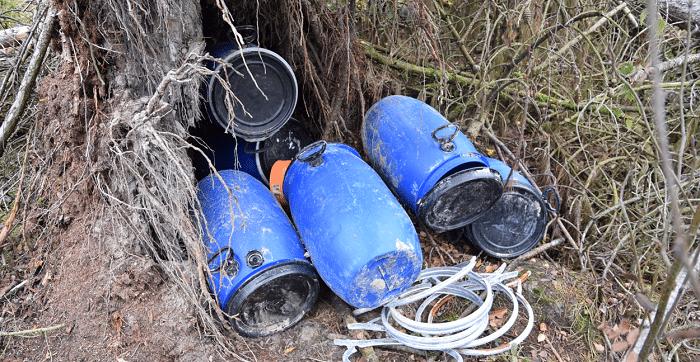 100 kilo crystal meth gevonden in bos bij Venlo