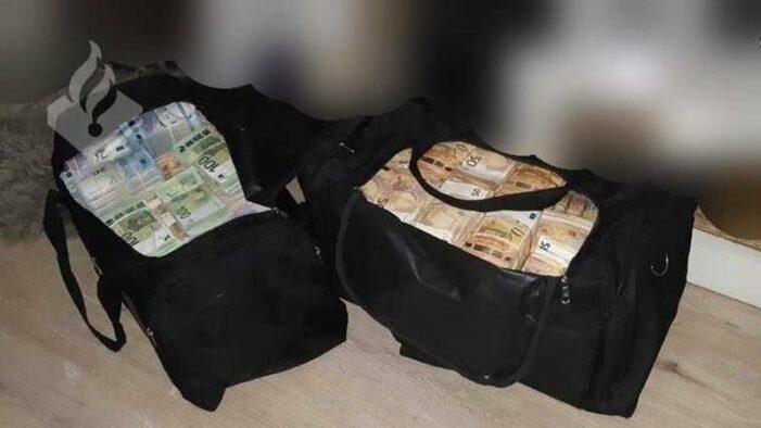 'Zoon bekende crimineel vervoerde 4,8 miljoen'