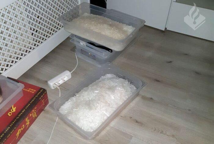 Opnieuw labs voor crystal meth ontdekt