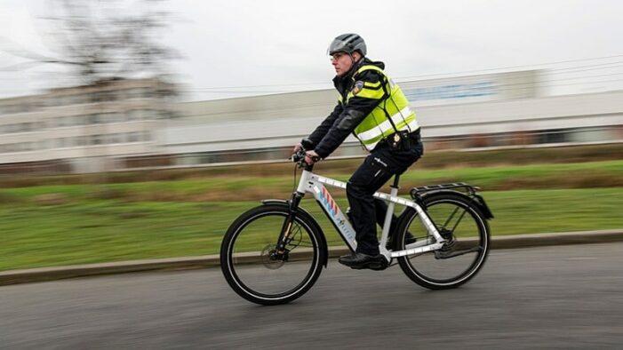 Politie krijgt 200 snelle e-bikes