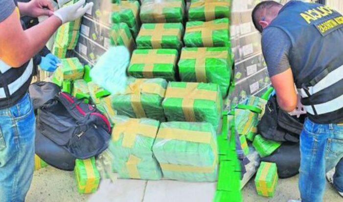 150 kilo Peruaanse cocaïne voor Rotterdam onderschept