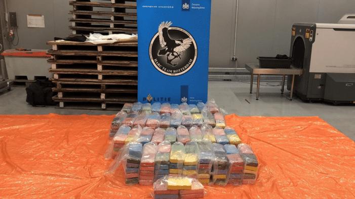 Rotterdam: 421 kilo cocaïne in twee zendingen