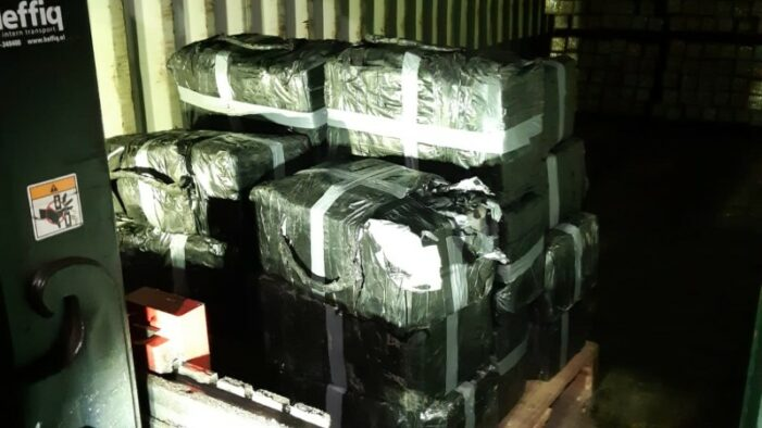 750 kilo cocaïne op bedrijventerrein in Roosendaal