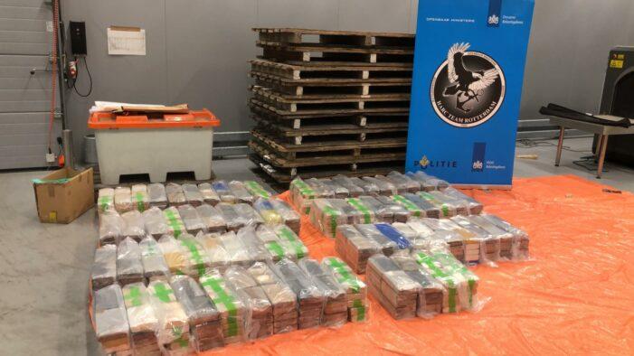 740 kilo cocaïne in beslag genomen