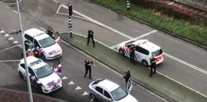 Schietende man op A1 na achtervolging opgepakt in Amsterdam-Oost