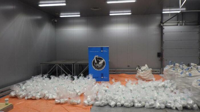 Record: 1,5 ton heroïne in Brits-Nederlands onderzoek