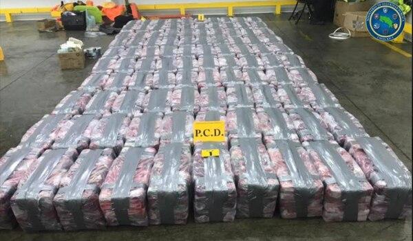 Twee ton cocaïne klaar voor Antwerpen