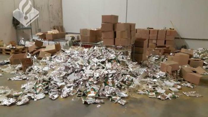 Grote hoeveelheid drugs gevonden in Den Haag