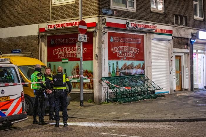 Aanhouding voor beschieting Poolse supermarkt