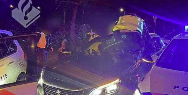 Politie pakt bestuurders gestolen auto's na achtervolging (VIDEO)