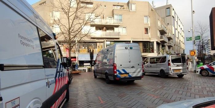 Explosief bij kledingwinkel in Amsterdam-Zuidoost
