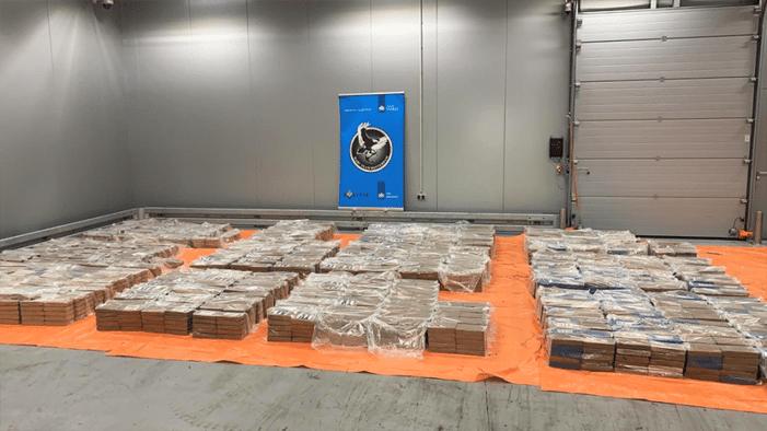 Vier ton cocaïne gepakt in Rotterdam