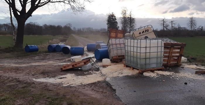 Duizenden liters chemicaliën bij drugsdumping in Asten