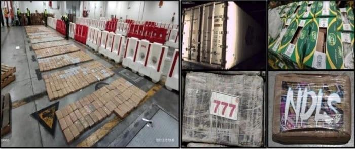 1,2 ton cocaïne in Ecuador onderschept voor Rotterdamse haven