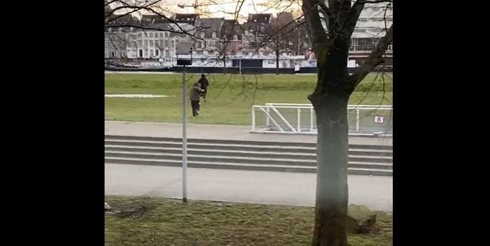 Klopjacht op duo na schietpartij in Maastricht (VIDEO)