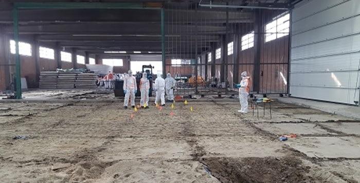 Betonvloer Antwerpse loods vervangen na verdwijning Naima Jillal
