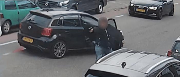 Schutter ruzie in Brabants dorp op beeld (UPDATE VIDEO)