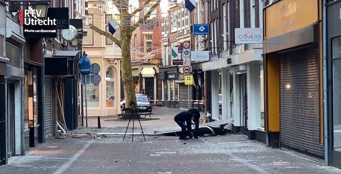 Ravage bij plofkraak op Utrechtse juwelier, verdachten (17, 18) opgepakt