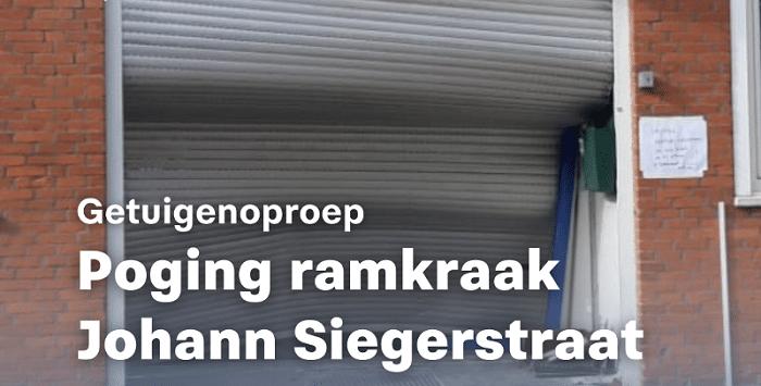 Poging ramkraak bij videobedrijf in Amsterdam-Oost