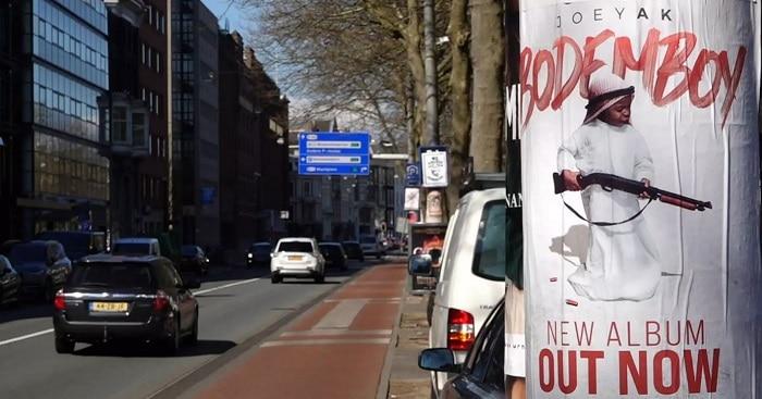 Ziggo Dome verwijdert billboard album veroordeelde rapper JoeyAK