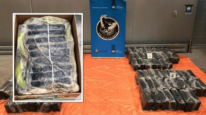 1,1 ton cocaïne uit Ecuador gepakt