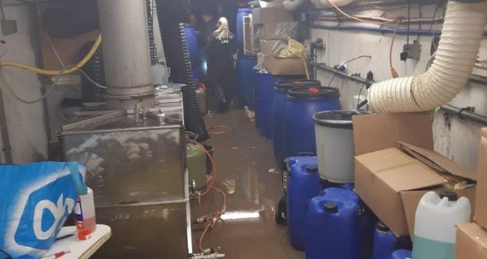 Tot 3,5 jaar cel voor amfetaminelab bij zwembad in Vleuten (VIDEO)